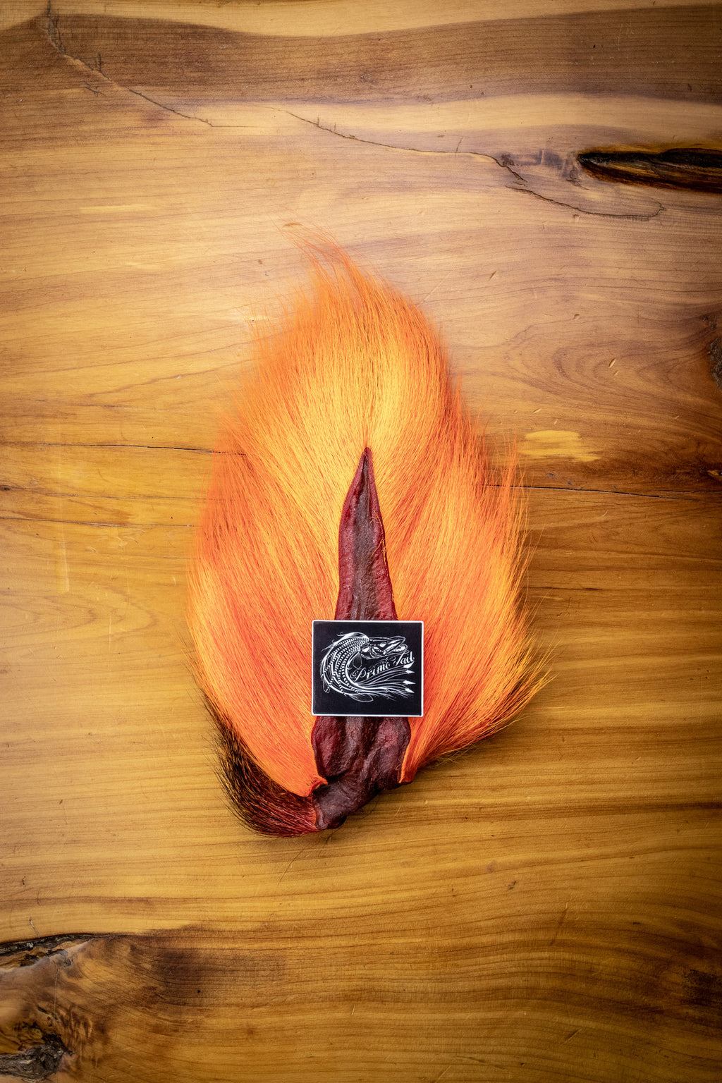 Orange Bucktail