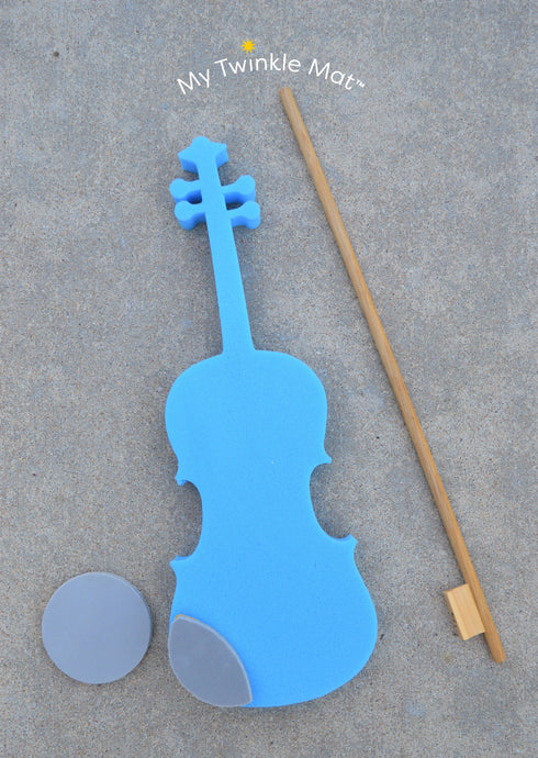 Twinkl'in Foam Violin With Wood Bow