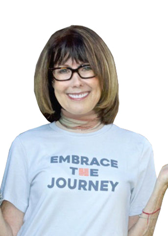 Embrace the Journey, Andrea Adler and her Story Behind the Shirt