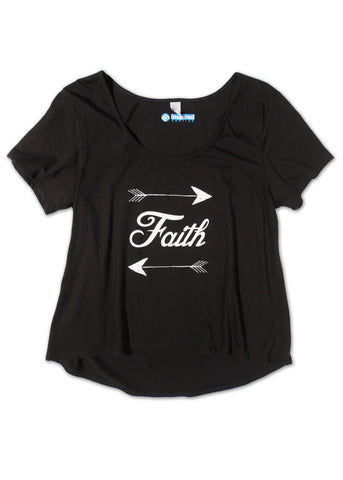 Faith Short Sleeve Scoop