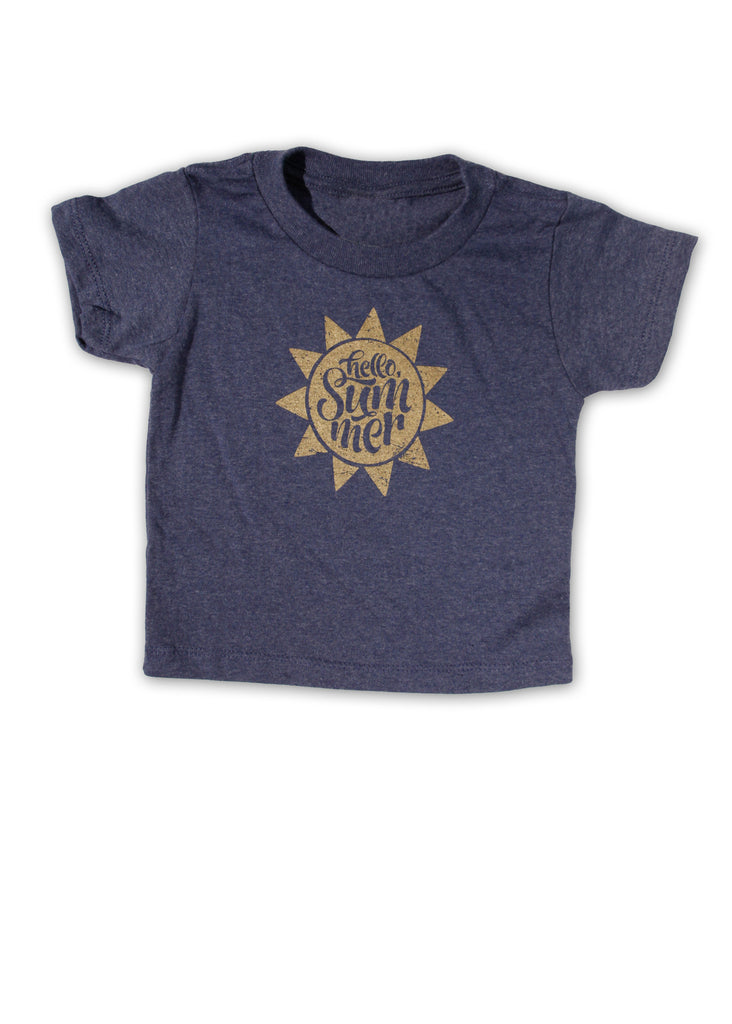Hello Summer Toddler Tee