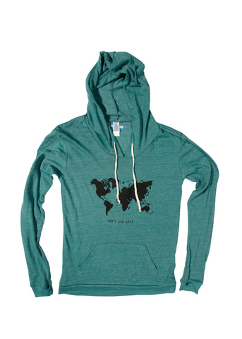 Let's Run Away Lightweight Hoody