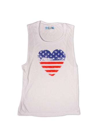 Love Thy Country Muscle Tank