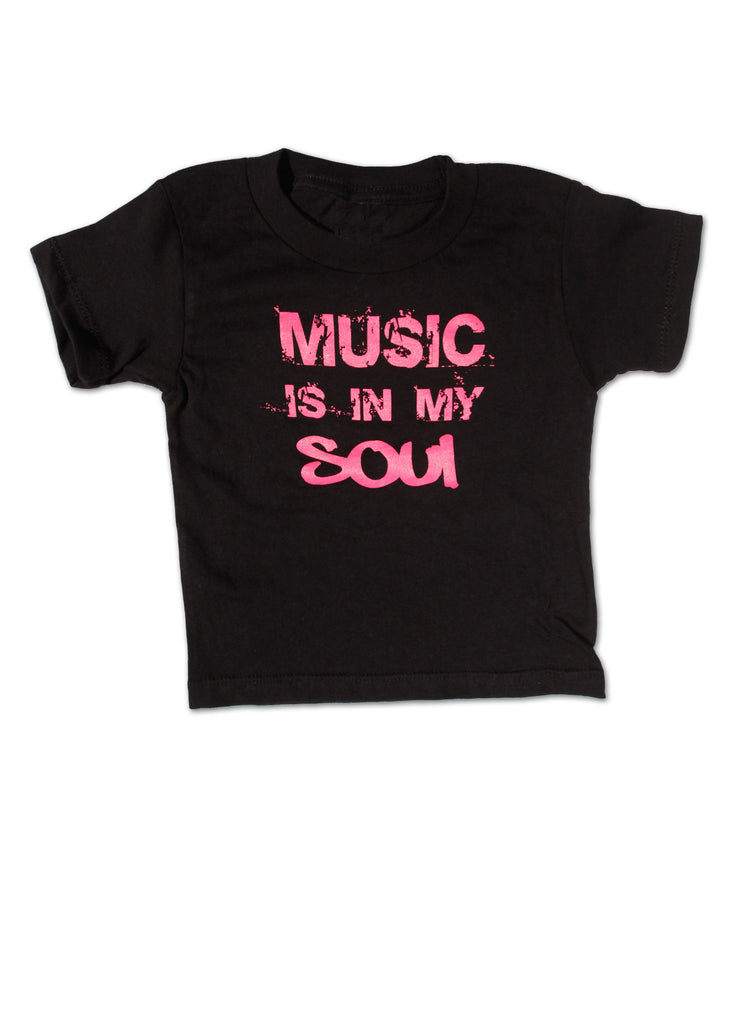 Music is in my Soul Toddler Tee
