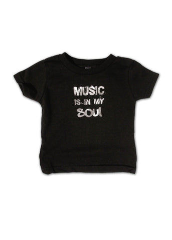 Music is in my Soul Infant Tee