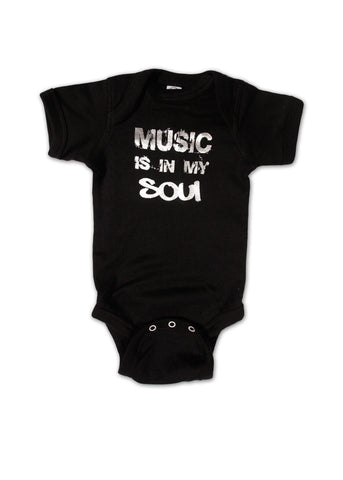 Music is in my Soul Onesie