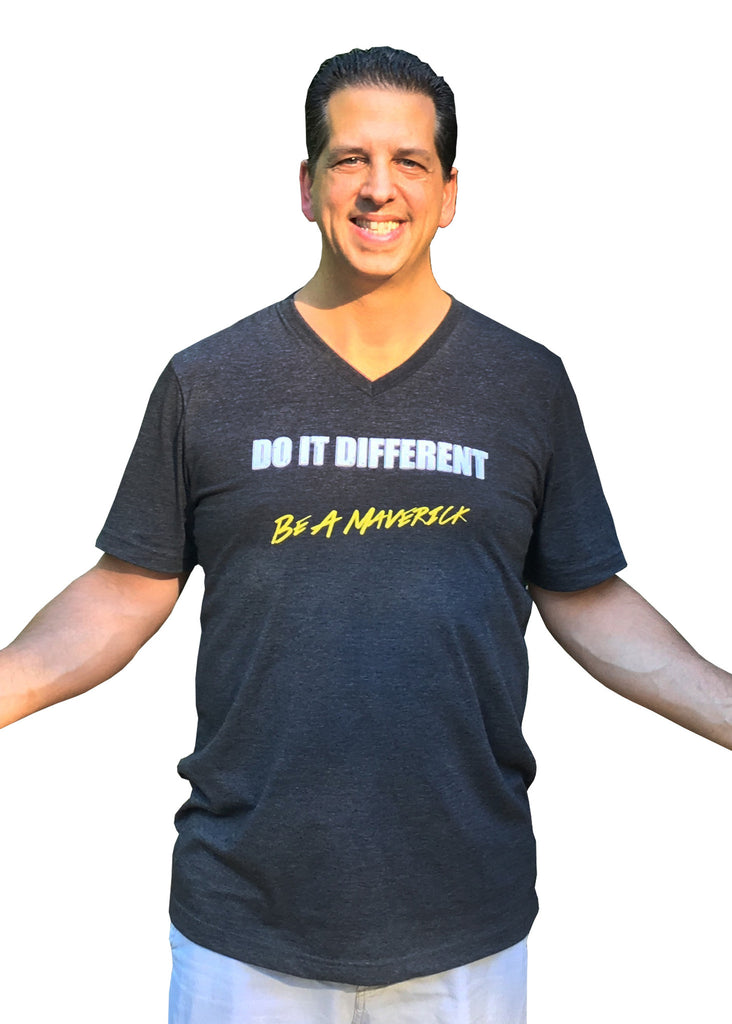 Do it Different, Paul Finck and his Story Behind the Shirt