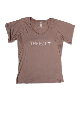 Therapy Flowy Raglan Top