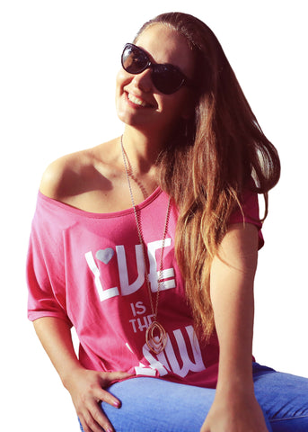 Love is the Law, Marieta Oslanec and her Story Behind the Shirt