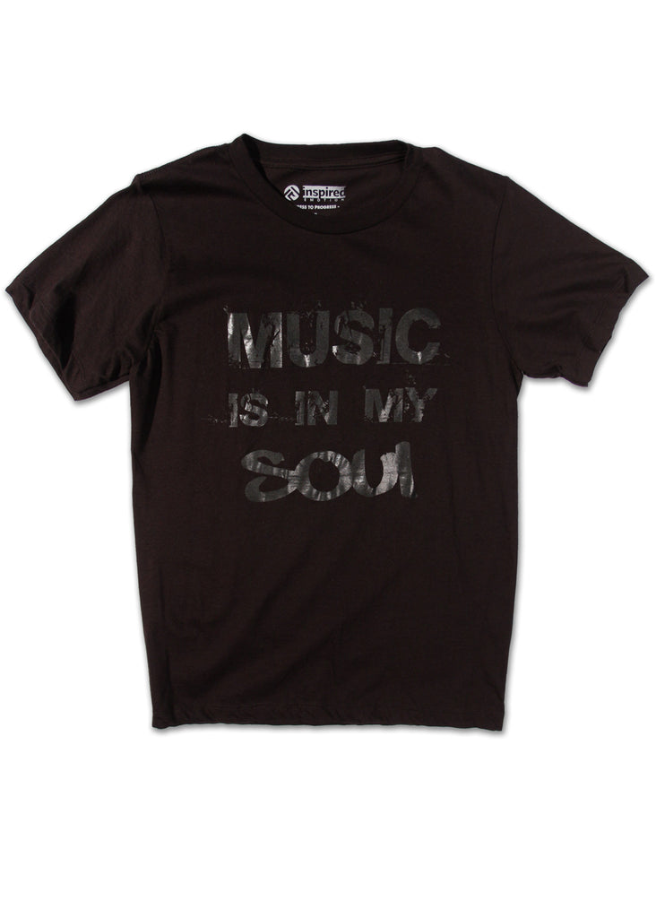 Music is in my Soul Men's T-Shirt