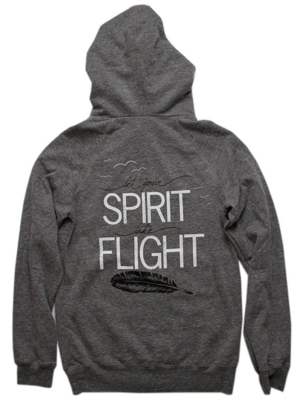 Let Your Spirit Take Flight Pullover Hoody
