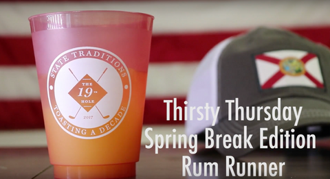 State Traditions Thirsty Thursday: Spring Break Edition. Rum Runner
