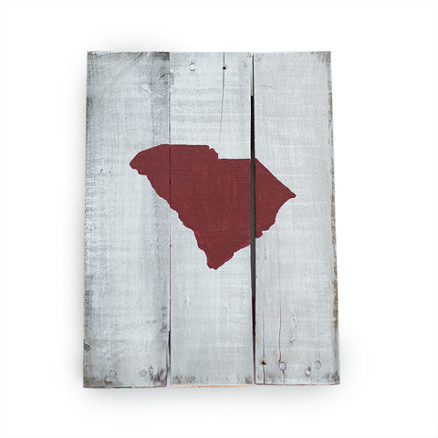 South Carolina Columbia Gameday Reclaimed Wooden Pallet Art Painted