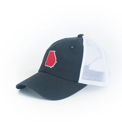 Georgia Athens Gameday Trucker Hat Black