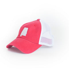 Alabama Tuscaloosa Gameday Trucker Hat Crimson