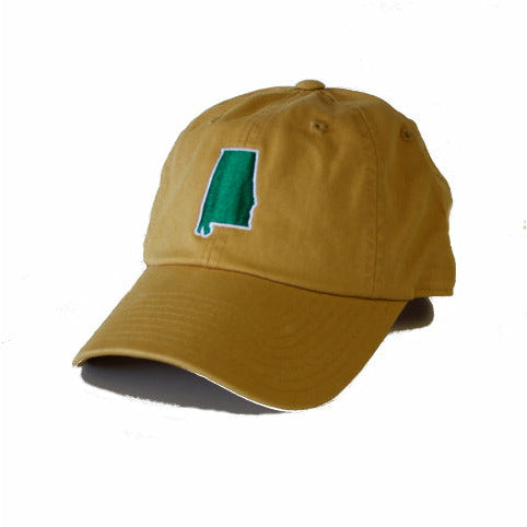Alabama Gameday Hat, Green and Gold, Blaze, Birmingham Gameday, UAB Themed HAT