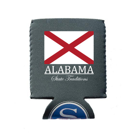 Alabama Flag Koozie