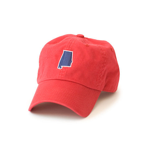 Alabama Mobile Gameday Hat Red