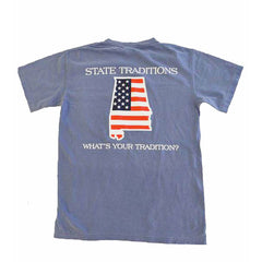 Alabama Patriot T-Shirt Blue Jean