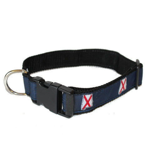 Alabama Traditional Dog Collar