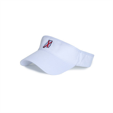 Alabama Traditional Hat Visor White