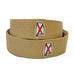 Alabama Traditional Embroidered Belt Khaki