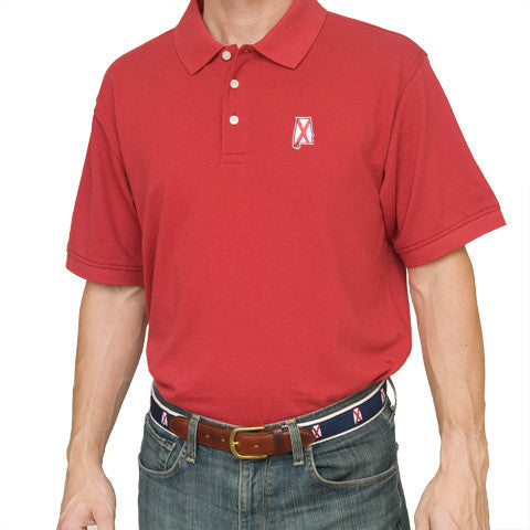Alabama Traditional Polo Crimson