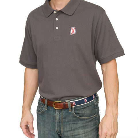 Alabama Traditional Polo Grey