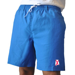 Alabama Traditional Royal Swim Trunks Front View
