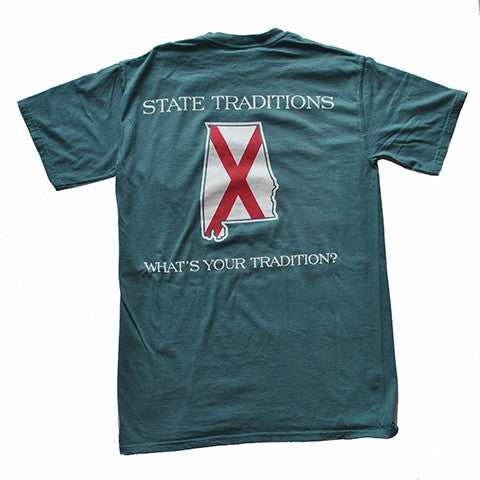 Alabama Traditional T-Shirt Sea