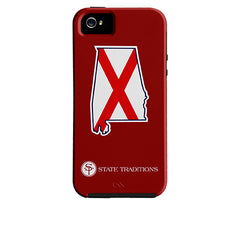 Alabama Traditional iPhone Case Crimson