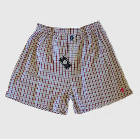 Alabama Tuscaloosa Gameday Boxers Crimson and Grey