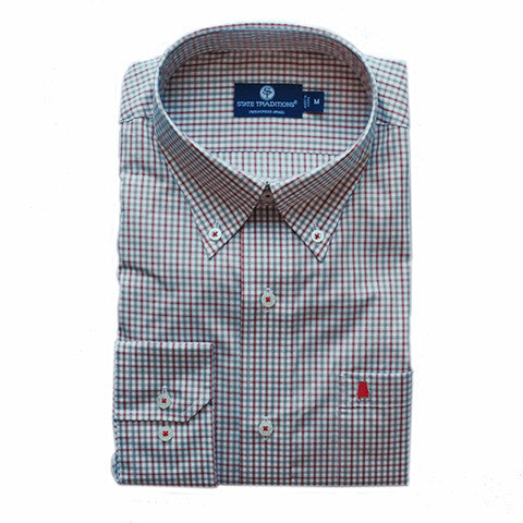 Alabama Tuscaloosa Gameday Statesman Button-Down Shirt