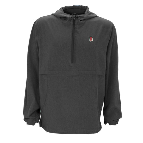 Alabama Tuscaloosa Gameday Anorak Pullover Charcoal