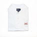Alabama Flag Performance Polo White