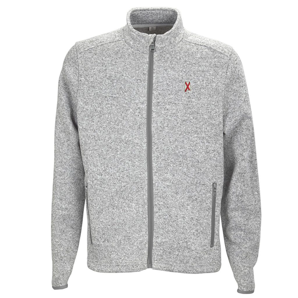 Alabama Traditional Heather Sweater Grey