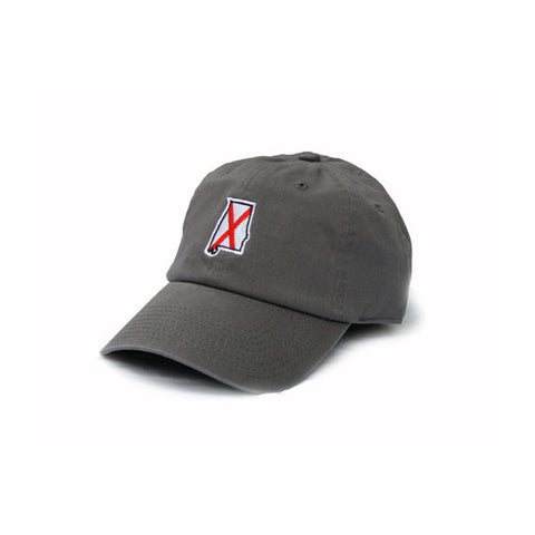 Alabama Traditional Hat Charcoal