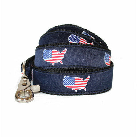 America Traditional Dog Leash/Lead Navy