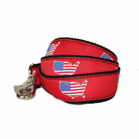 America Traditional Dog Leash/Lead Red