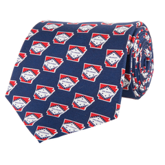 Arkansas Traditional Tie Navy