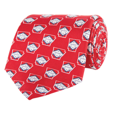 Arkansas Traditional Tie Red