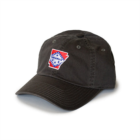 Arkansas Traditional Hat Charcoal