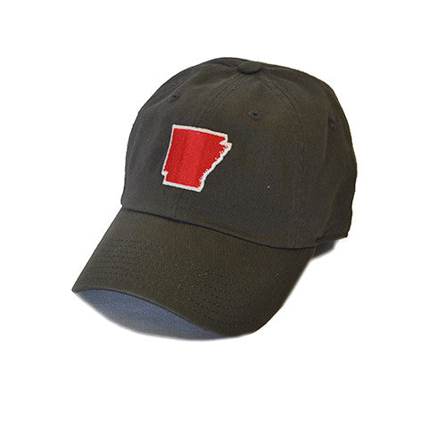 Arkansas Fayetteville Gameday Hat Charcoal