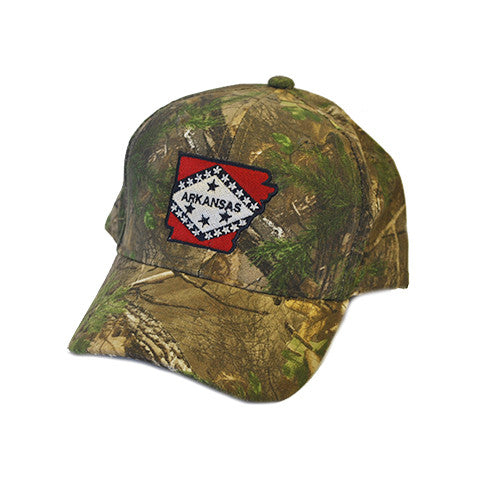 Arkansas Traditional Youth Hat Camo