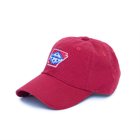 Arkansas Traditional Hat Red