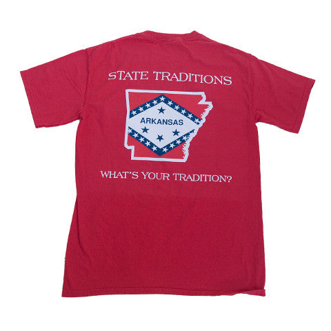 Arkansas Traditional T-Shirt Red