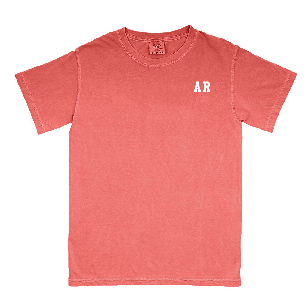 "Arkansas ""AR"" State Letters T-Shirt"