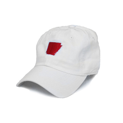 Arkansas Fayetteville Gameday Hat White