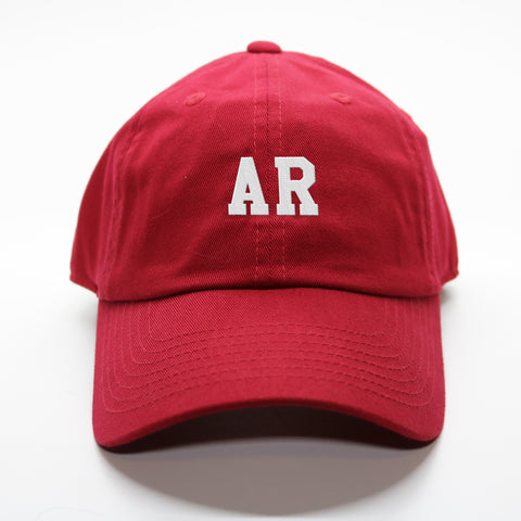 """AR"" Arkansas Gameday Letterman Hat"