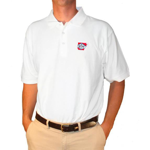 Arkansas Traditional Polo White